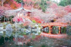 Daigoji寺庙京都日本 免版税图库摄影