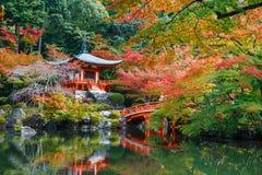 Daigoji świątynia w Kyoto Zdjęcie Royalty Free