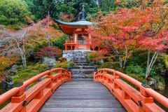 Daigoji tempel i Kyoto Arkivfoto