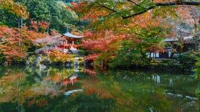 Daigoji tempel i Kyoto Royaltyfri Fotografi