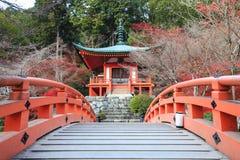 Daigoji is tempel van de Shingon-sekte van Japans Boeddhisme stock afbeeldingen