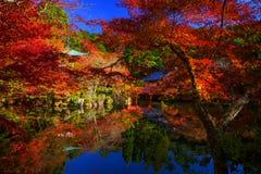 Daigoji temple with autumn foliage, Kyoto Stock Images