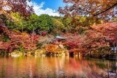 Daigoji temple in autumn, Kyoto. Japan autumn seasons Royalty Free Stock Photography