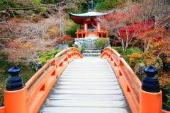 Daigoji temple. In autumn season, Kyoto Japan Stock Image