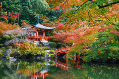 Daigoji Temple in Kyoto Royalty Free Stock Photo