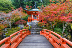 Daigoji Temple in Kyoto Stock Photo