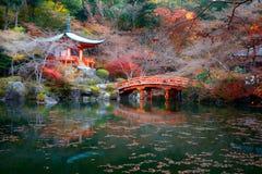 Daigoji Temple, Kyoto Japan Stock Image