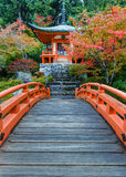 Daigoji Temple in Kyoto, Japan Royalty Free Stock Image