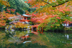 Daigoji Temple in Kyoto, Japan Royalty Free Stock Photography