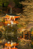 Daigoji Temple Kyoto Japan night Stock Photography