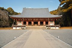 Daigoji temple Royalty Free Stock Photos