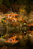 Daigoji Temple night Kyoto Stock Images