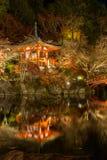 Daigoji Temple night Kyoto Stock Images