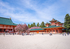 Daigoku-den in Heian jingu shrine Royalty Free Stock Photography