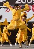 daihanya tancerzy festiwalu japończyk Obrazy Royalty Free