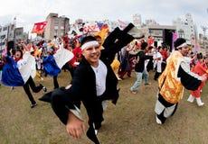 daihanya tancerzy festiwalu japończyk Zdjęcie Stock