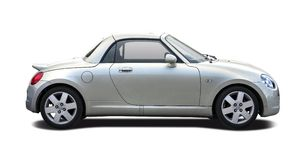 Daihatsu Copen isolated Royalty Free Stock Photos