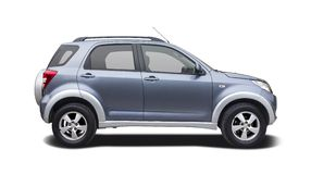 Daihatsu Terios side view isolated on white Stock Images