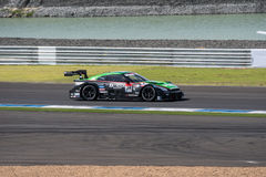 Daiki Sasaki of KONDO RACING in Warm Up Lap Super GT Final Race Royalty Free Stock Photography