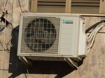 Daikinairconditioner stock foto's