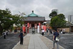 Daikokuten寺庙上野公园东京日本2016年 免版税库存照片