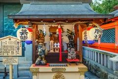 Daikokuten στη λάρνακα Jishu στο Κιότο Στοκ εικόνα με δικαίωμα ελεύθερης χρήσης