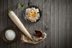 Daikon Radish Salad Royalty Free Stock Photography
