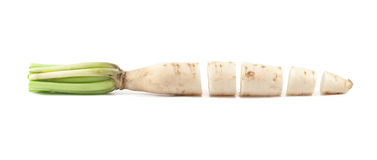 Daikon radishes Royalty Free Stock Photos