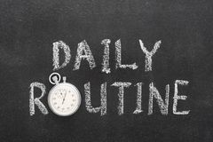 Free Daily Routine Watch Stock Photography - 99604072