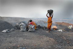 Dailylife Of Jharia Stock Photo