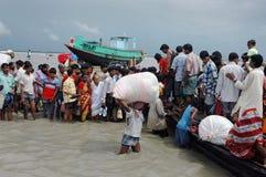 Dailylife von Sundarban-Indien Stockfotografie