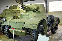 Daimler Armoured Car Mk II Stock Photos