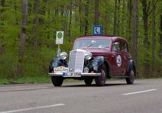 1954 Daimler-Benz 170 SV bij ADAC Wurttemberg Historische Rallye 2013 Stock Afbeeldingen