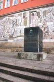 Daimler monument-I-Schorndorf. Date: January, 2015 Royalty Free Stock Photos