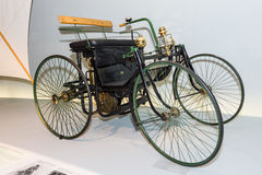 Daimler motorized quadricycle Stock Photos