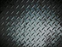 Daimond di piastra metallica Immagini Stock Libere da Diritti