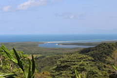 Daintree Rainforest. Drive to the daintree rainforest lookout Stock Image