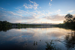 Daintree River at Sunset Royalty Free Stock Images