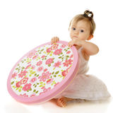 Dainty Baby, Dainty Box Royalty Free Stock Images