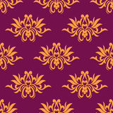 Dainty floral seamless pattern Stock Image