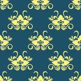 Dainty floral seamless pattern Stock Photos