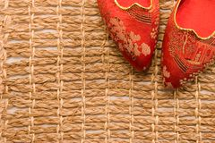 Dainty Japanese Slippers Stock Images