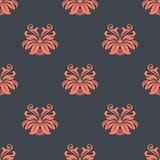 Dainty vintage damask style pattern Stock Images