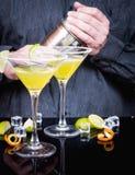 Daiquirí del cóctel del alcohol fotos de archivo