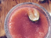 Daiquirí del Tequila Imagen de archivo libre de regalías