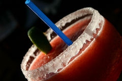 Daiquiri al gusto di frutta Fotografie Stock Libere da Diritti