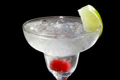 Daiquiri bowl. Isolated in black background Royalty Free Stock Image