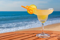 Daiquiri cocktail with ice Stock Image
