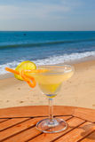 Daiquiri cocktail with ice Royalty Free Stock Images