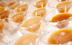 Daiquiri cocktails waiting for guests Stock Images
